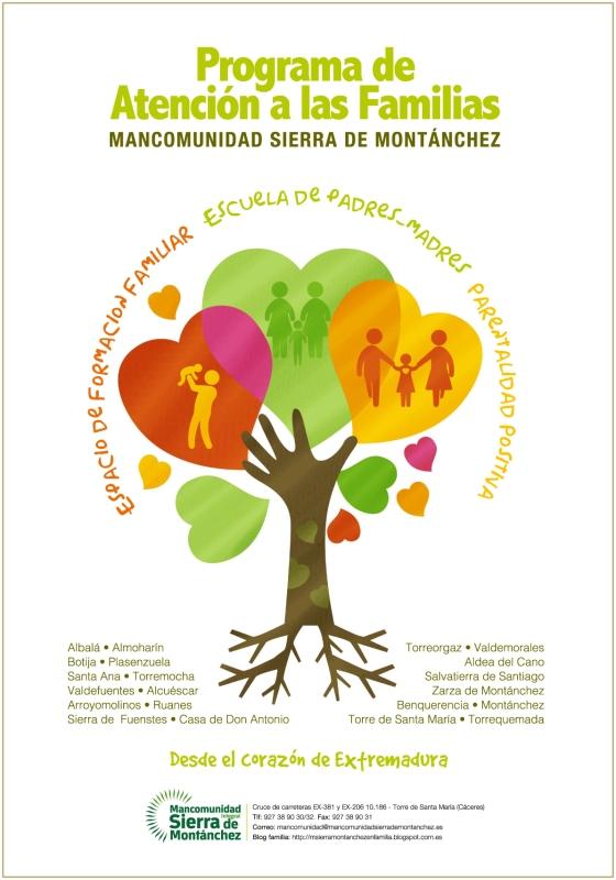 cartel Programa familia